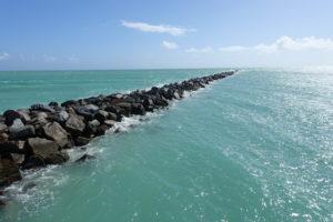 South Pointe Beach in Miami South Beach