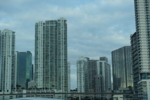 Urbaner Ausblick auf Miami