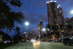 Miami bei Nacht in Overtown