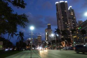 Miami bei Nacht in Overtown