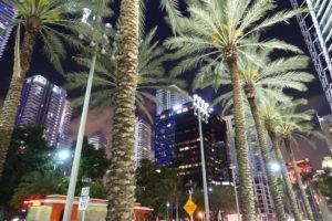 Miami Downtown bei Nacht