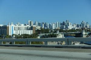 Ausblick auf Miami