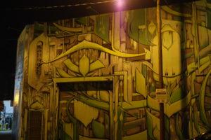 Miami Wynwood walls, Kunst auf Fassade von unbekannten Künstler