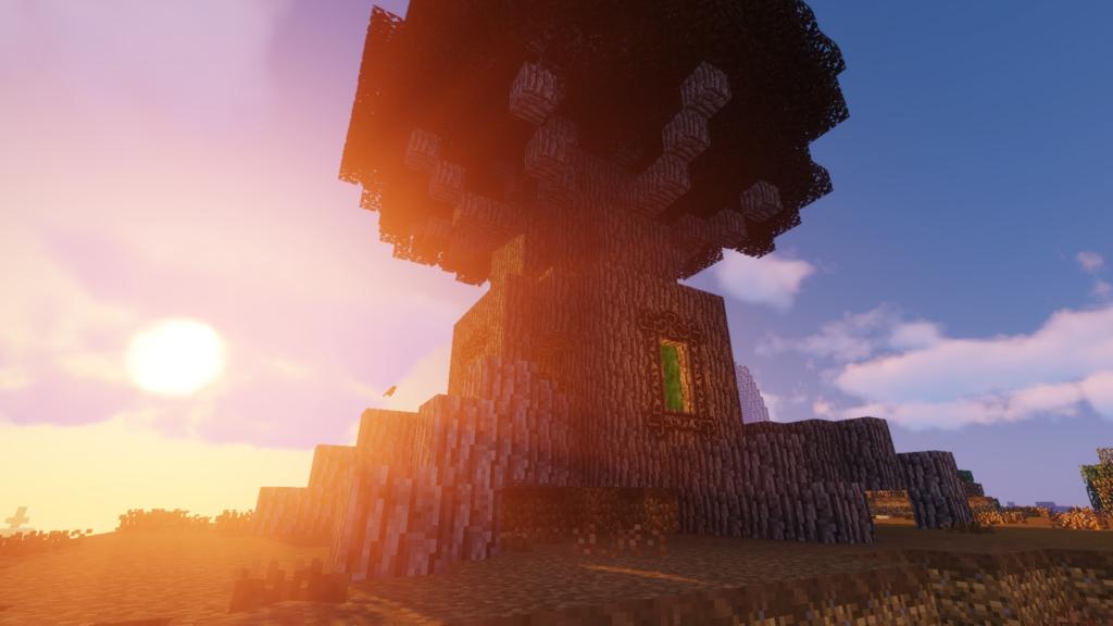 MeinCroft Screenshot mit Portal-Baum